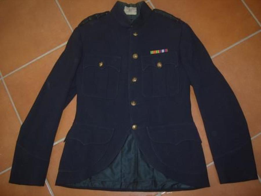 CAMERON HIGHLANDERS 1939 DATED BLUE PATROL JACKET