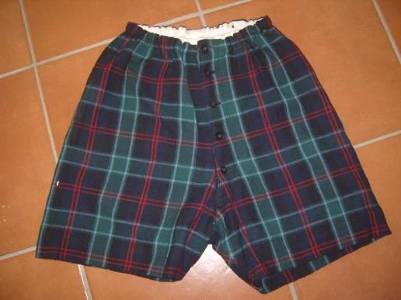 Scottish Highlanders under kilt tartan shorts.