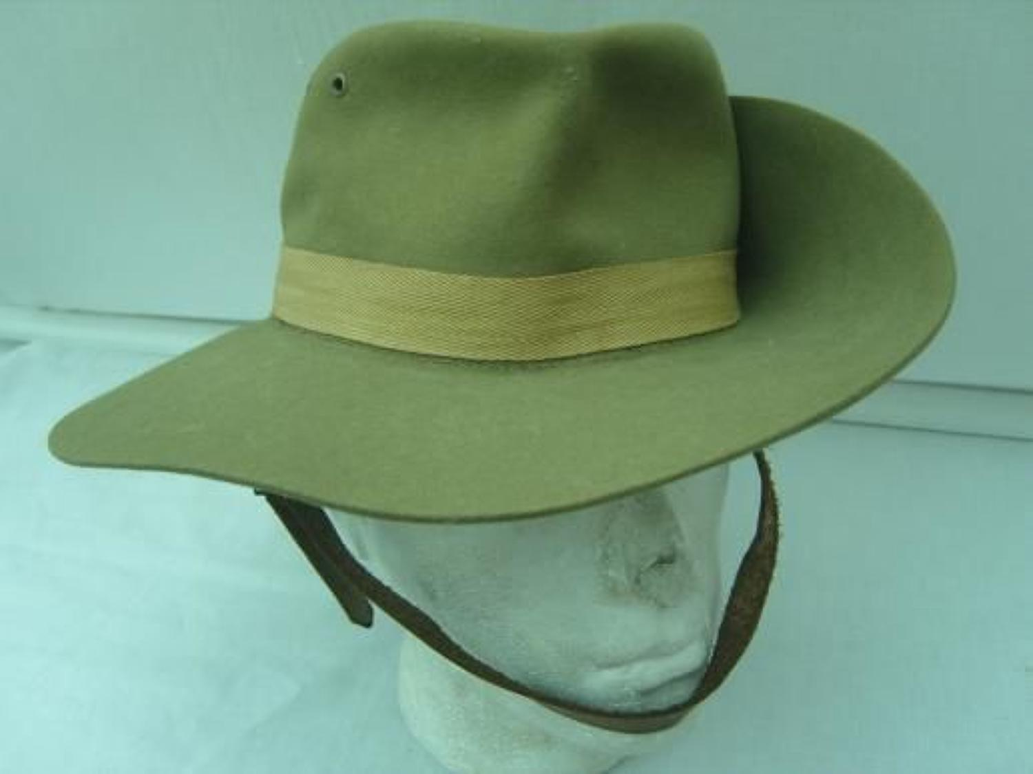 1941 dated British Slouch Hat.