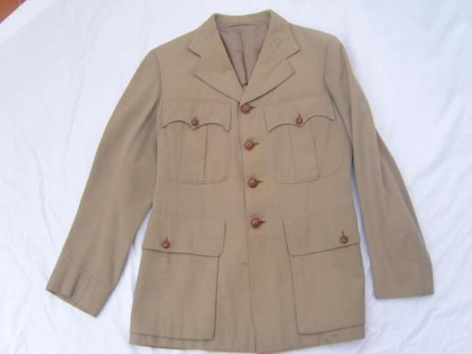 1942 dated Tunic Jacket to Officer in the Indian Army.