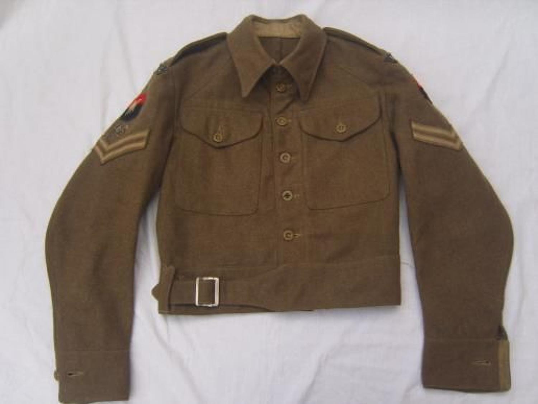 1940 Pattern: 1945 Dated British Army Battledress Blouse