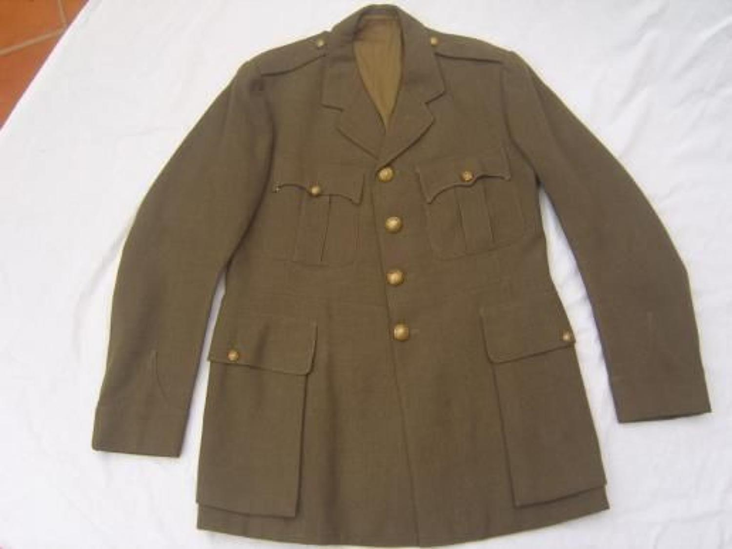 BRITISH STAFF OFFICERS TUNIC TO KINGS LIVERPOOL REGIMENT