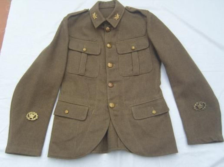 SCOTTISH 1922 PATTERN SERVICE DRESS KHAKI TUNIC