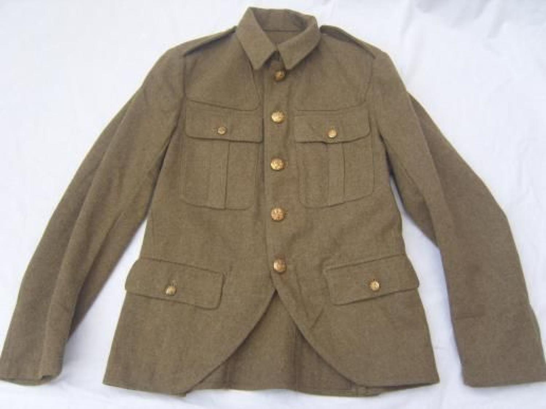 SCOTTISH 1922 PATTERN KHAKI SERVICE DRESS TUNIC