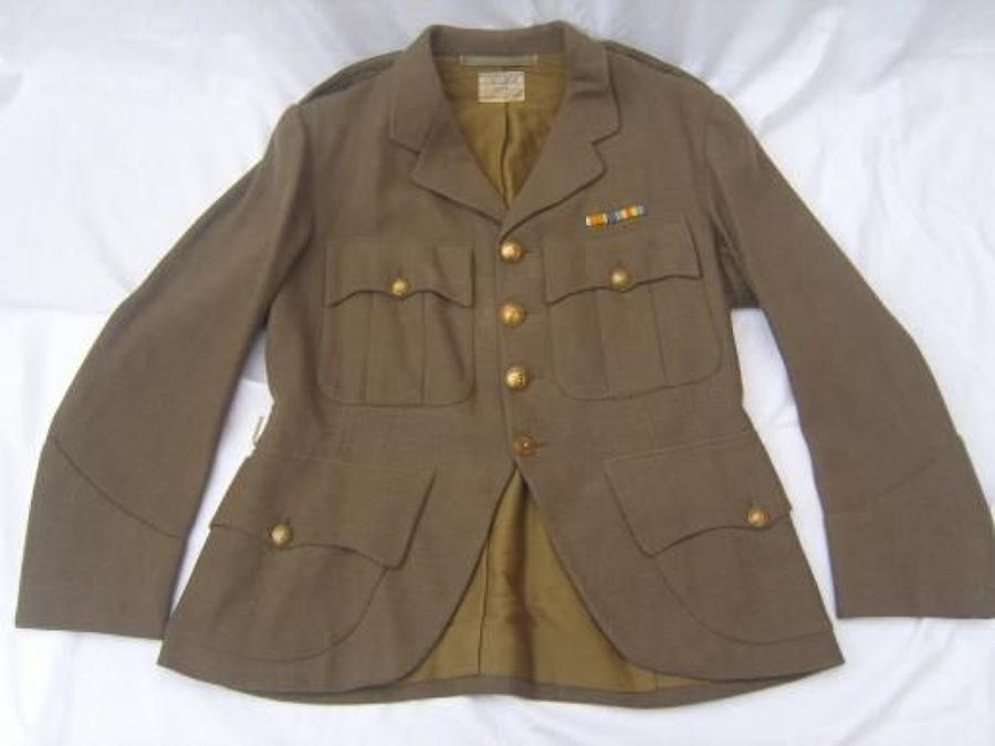 OFFICERS INTERWAR SCOTTISH CUT AWAY HIGHLANDERS TUNIC