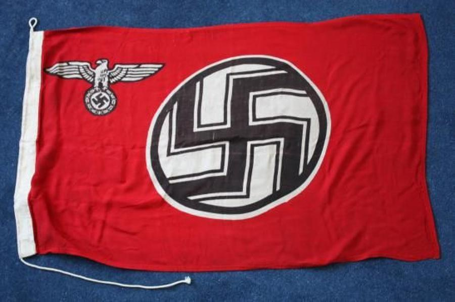 WW2 THIRD REICH NAZI GERMAN REICHSDIENST FLAG