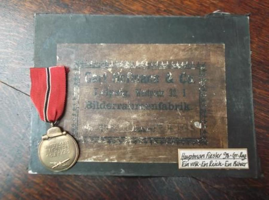 WW2 Genuine German Army Eastern / Russian Front Medal
