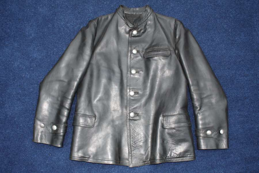 WW2 GERMAN U-BOAT/ PANZER LEATHER JACKET ...