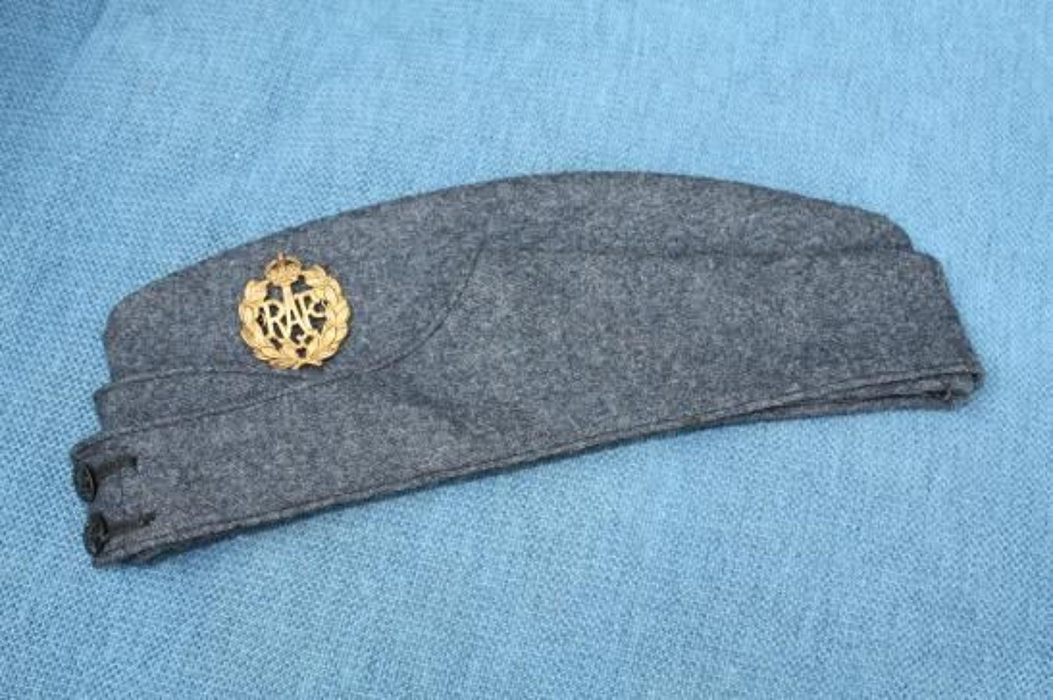 1943 Dated RAF Other Ranks WW2 Side Cap