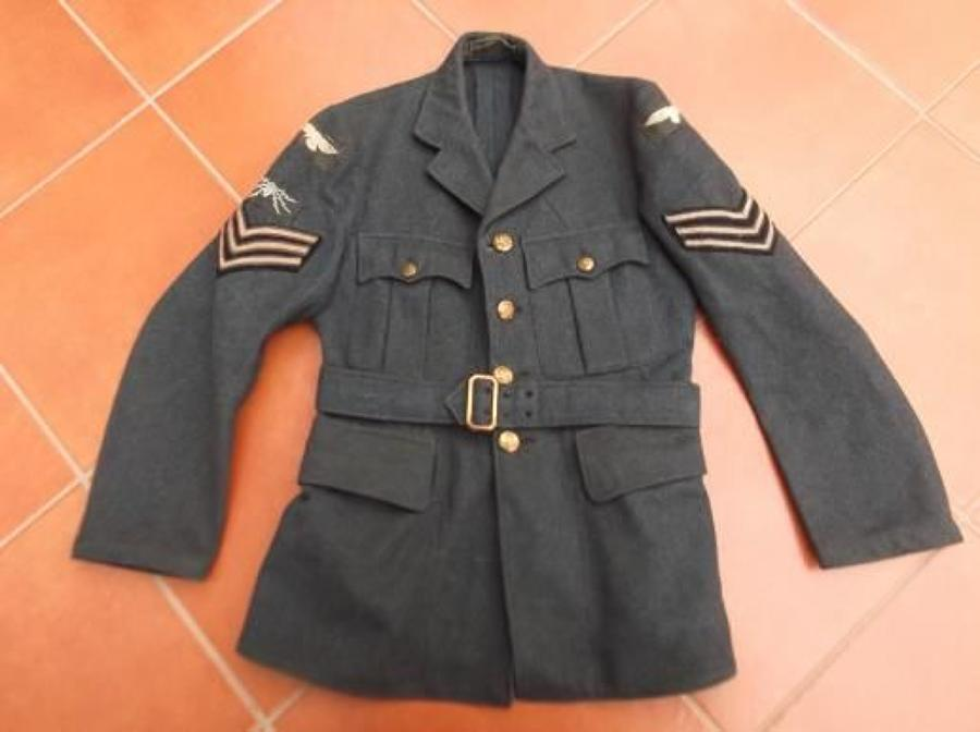 1940 DATED RAF AIRCRAFTSMAN JACKET / TUNIC