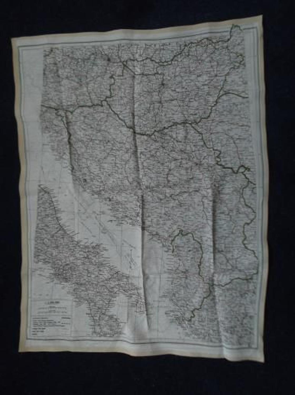 WW2 RAF AIRCREW ESCAPE MAP