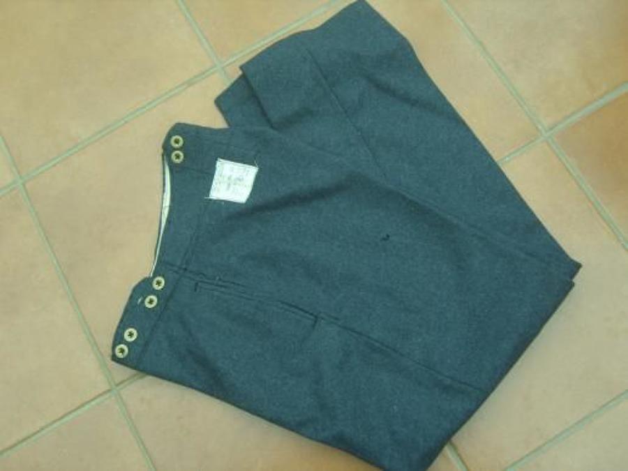 1941 dated RAF War Service Dress Trousers