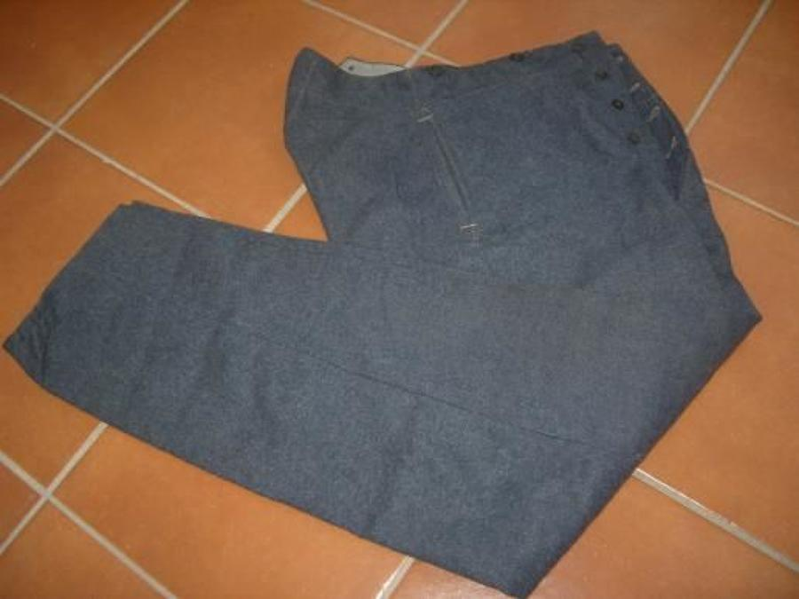 RAF War Service Dress Trousers