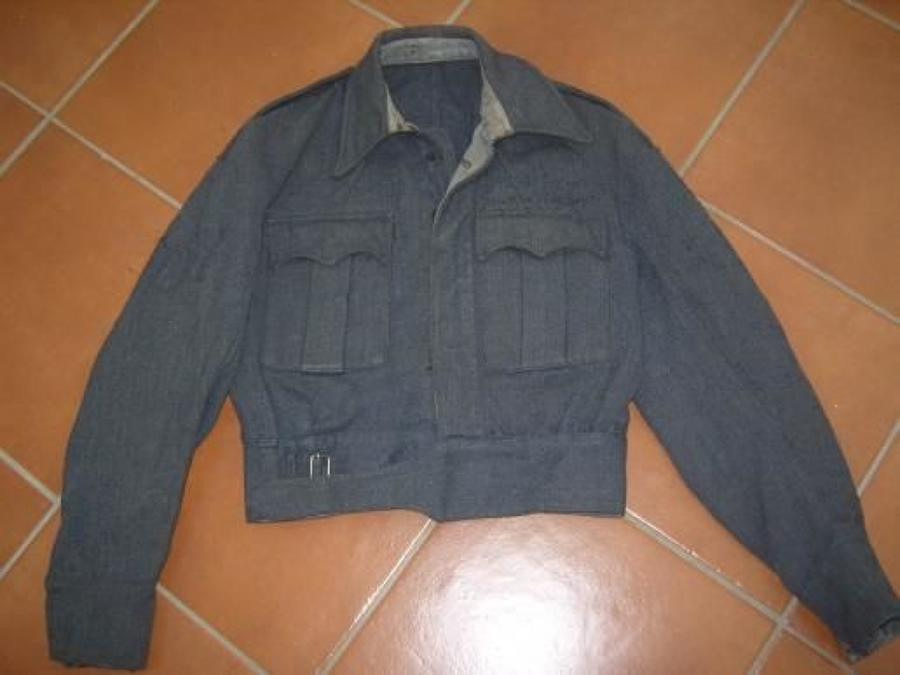 WW2 RAF AIRCREW BATTLEDRESS BLOUSE