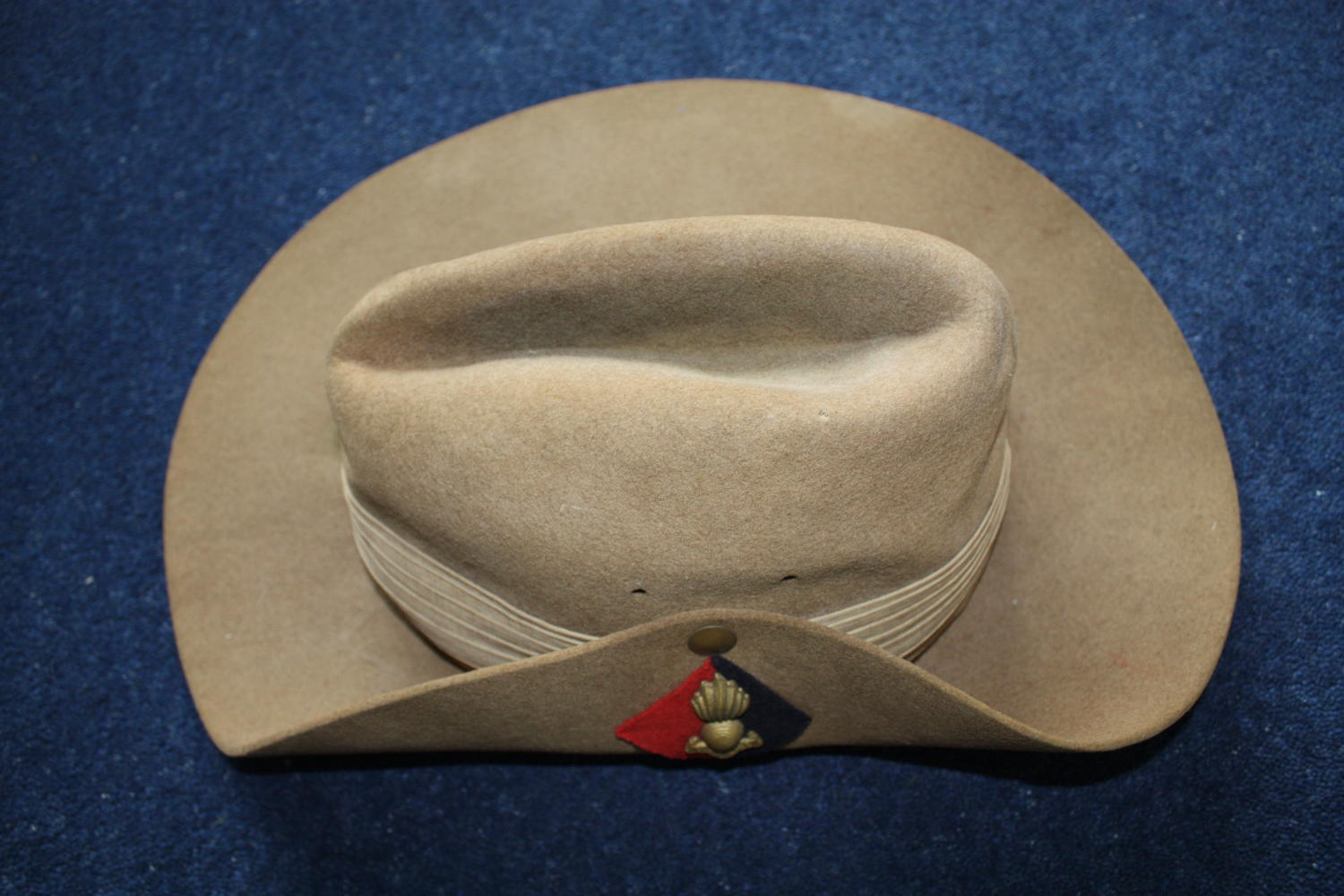 WW2 British/ Australian Slouch Hat dated 1945