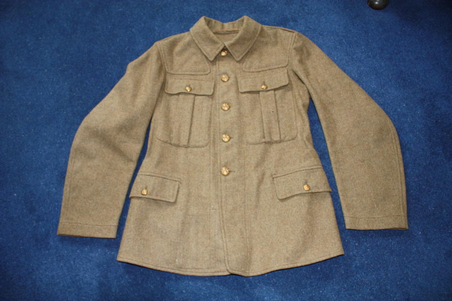 1918 Pattern British Other Ranks Khaki service dress tunic