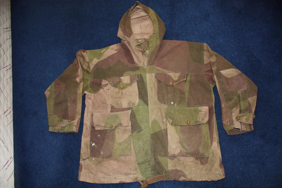 WW2 1943 Dated British SAS Windproof Smock: CWS
