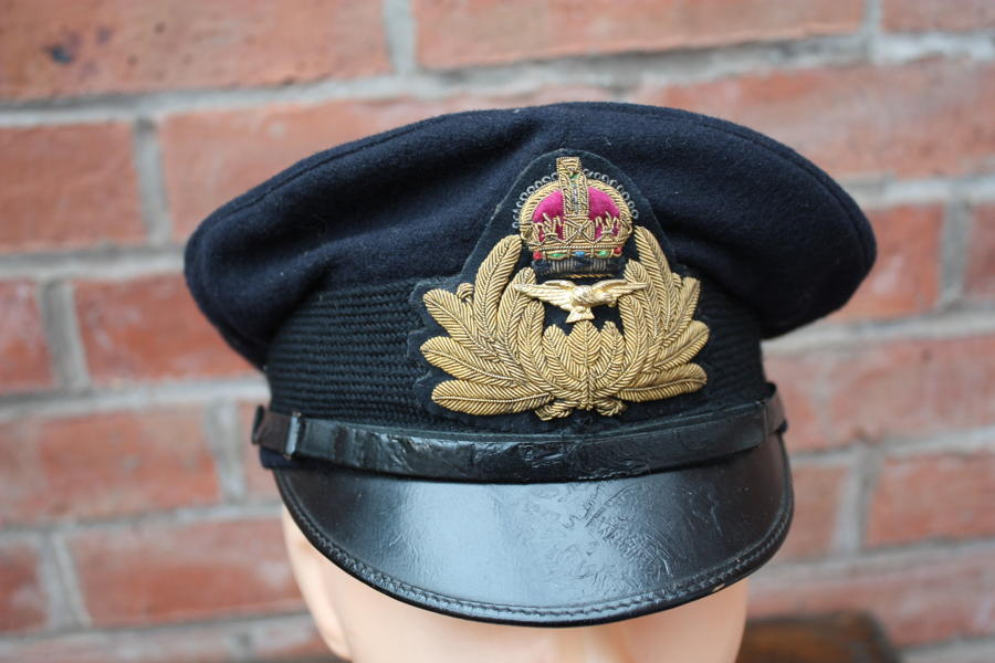 WW1 RNAS ROYAL NAVAL AIR SERVICE OFFICERS CAP