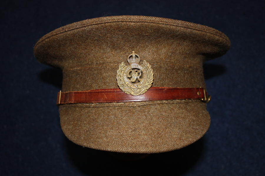 1905 Pattern WW2 British Other Ranks Khaki Service Dress Cap
