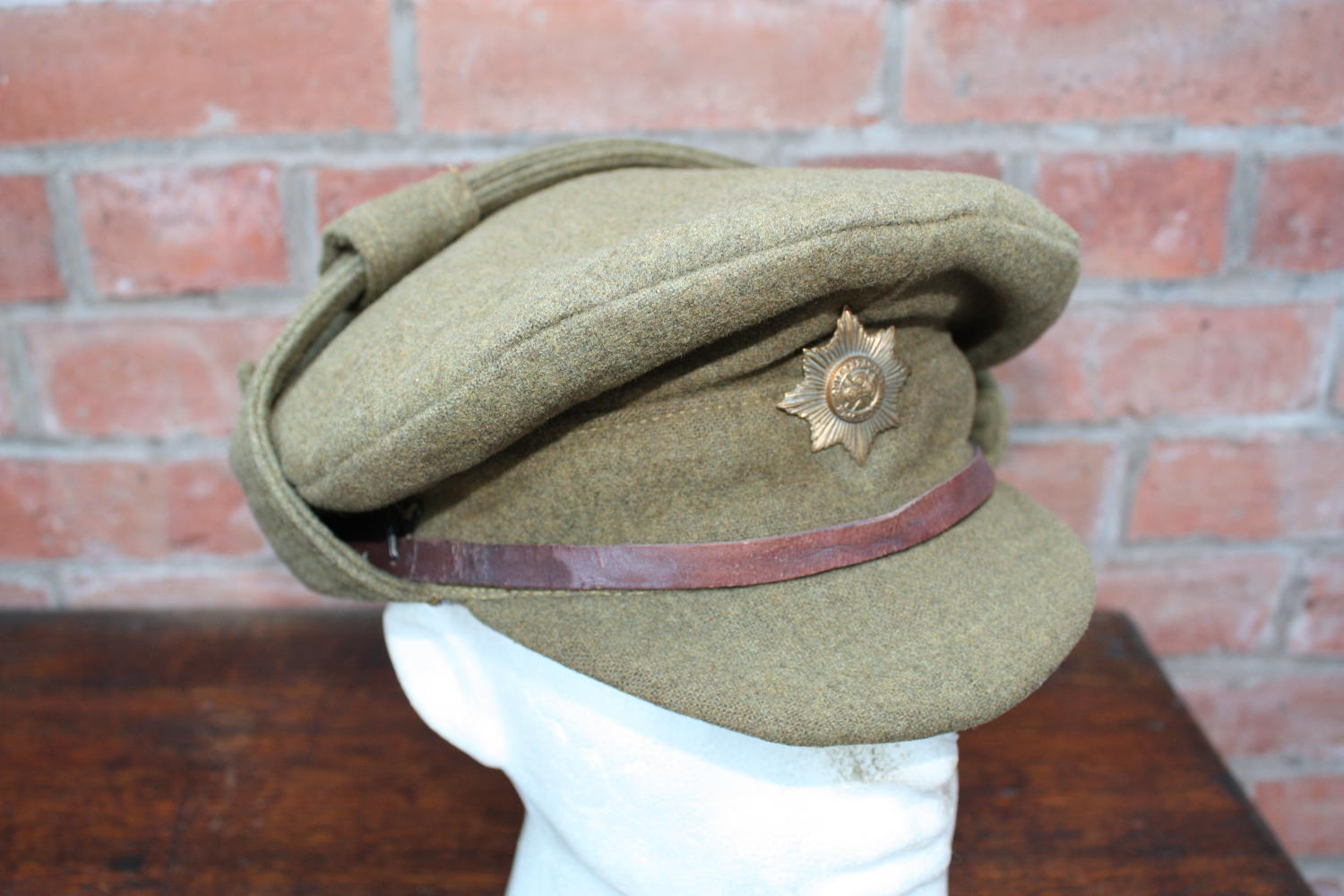 WW1 BRITISH OTHER RANKS 'COR BLIMEY' TRENCH CAP