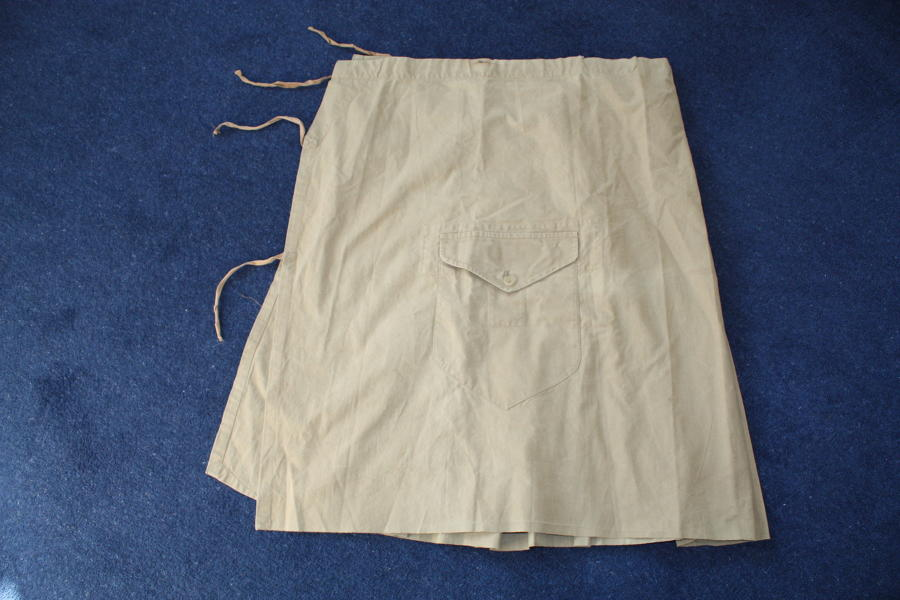 WWI / WW2 Pattern Scottish Full Wrap Around Kilt Cover.