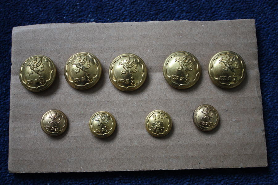 WW1 OFFICERS WEST SOMERSET YEOMANRY BUTTONS