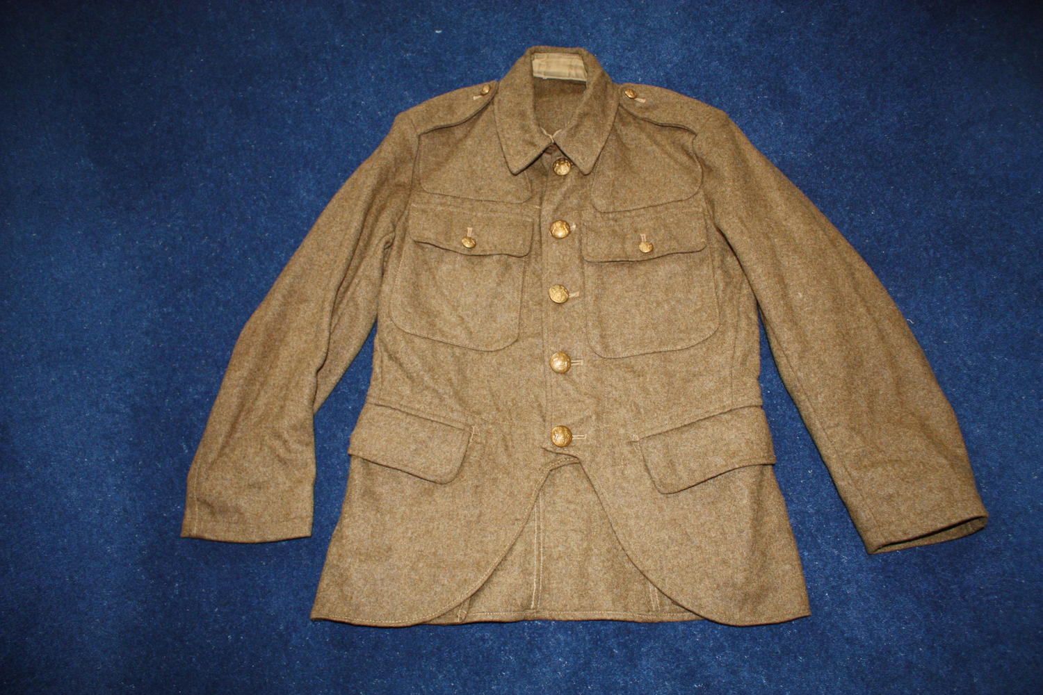 SCOTTISH 1922 HIGHLAND PATTERN SERVICE DRESS KHAKI TUNIC