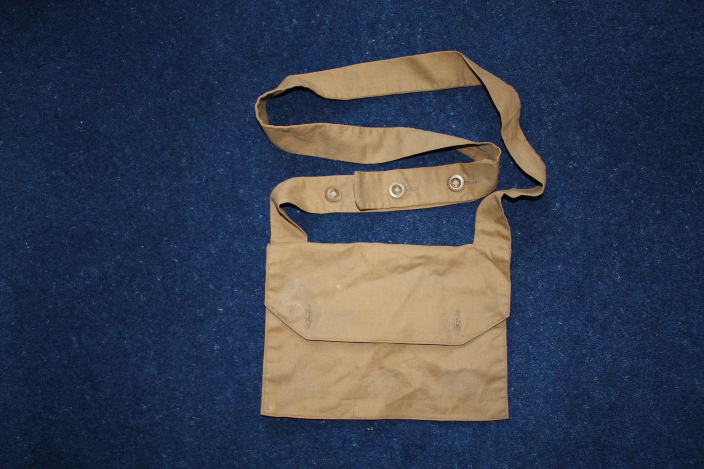Rare WW1 British PH Gas Hood Bag 12th Kings Liverpool Regiment
