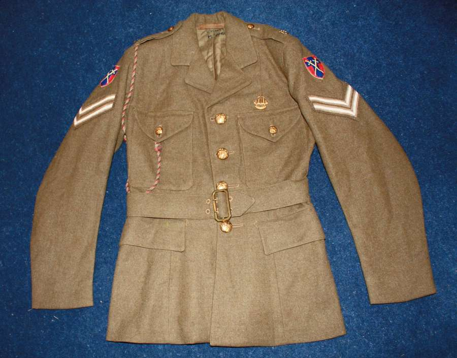 WW2 ATS WOMEN'S 'AUXILIARY TERRITORIAL SERVICE' TUNIC