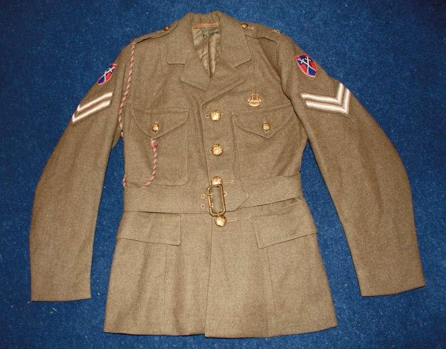 WW2 ATS WOMEN'S 'AUXILIARY TERRITORIAL SERVICE' TUNIC