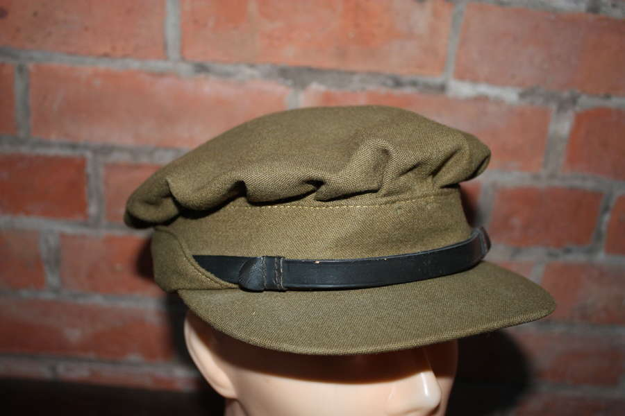 WW2 Women's officer cap. ATS or similar.