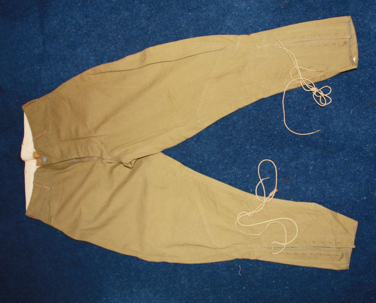 WW1 1917 Dated US Army Breeches KD Cotton Khaki Drill