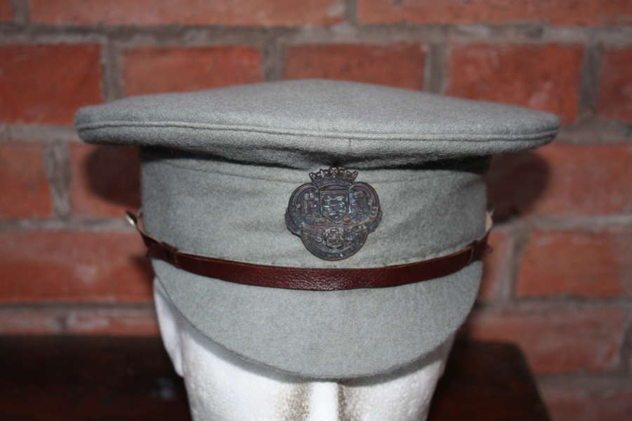 Rare WW1 British Volunteer Training Corps Cap North East Lancs