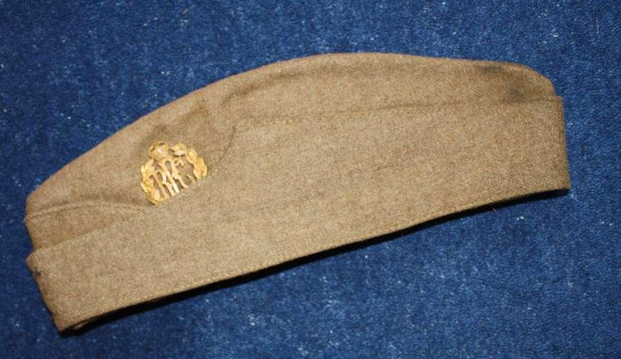 WW1 RFC OTHER RANKS ROYAL FLYING CORPS KHAKI SIDE CAP