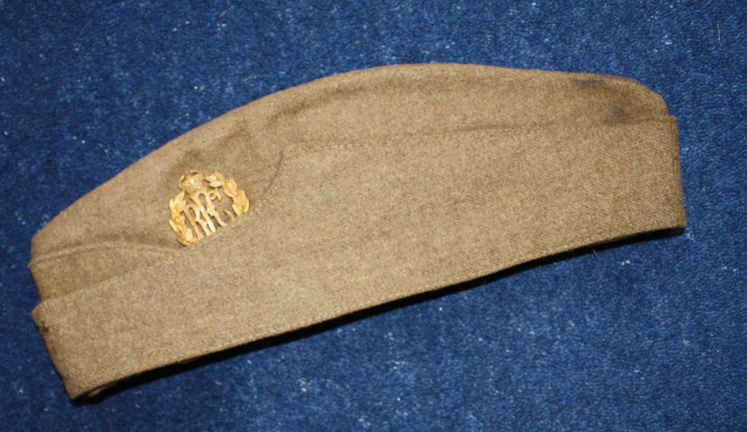 WW1 RFC OTHER RANKS ROYAL FLYING CORPS KHAKI SIDE CAP