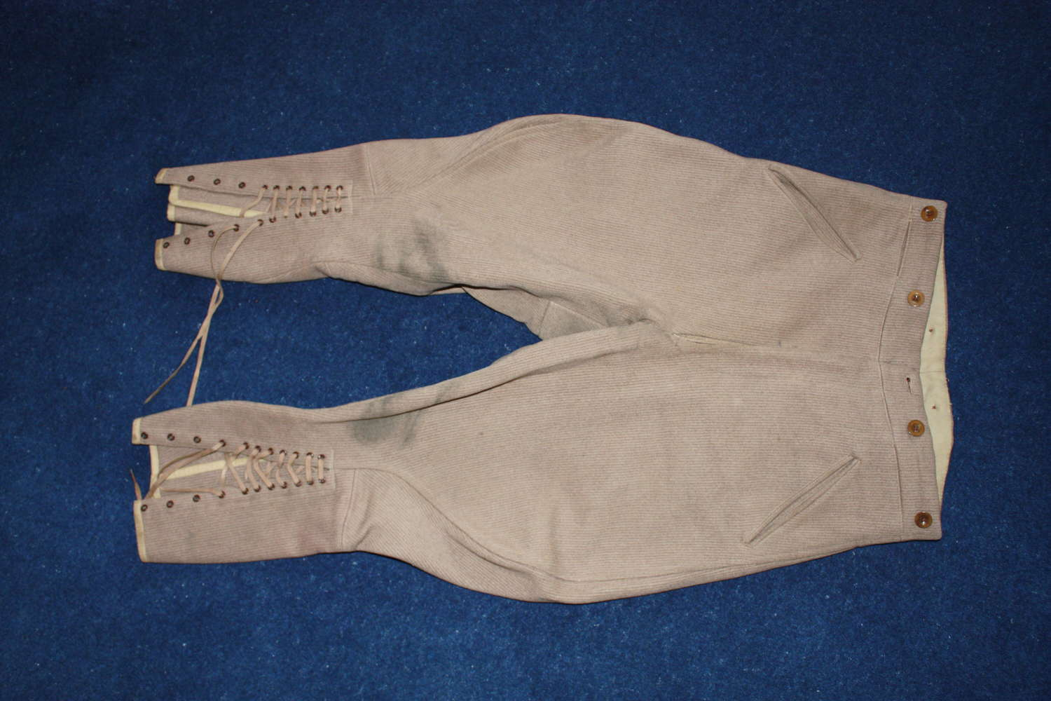 WW1 BRITISH ARMY OFFICERS SERVICE DRESS CORD BREECHES