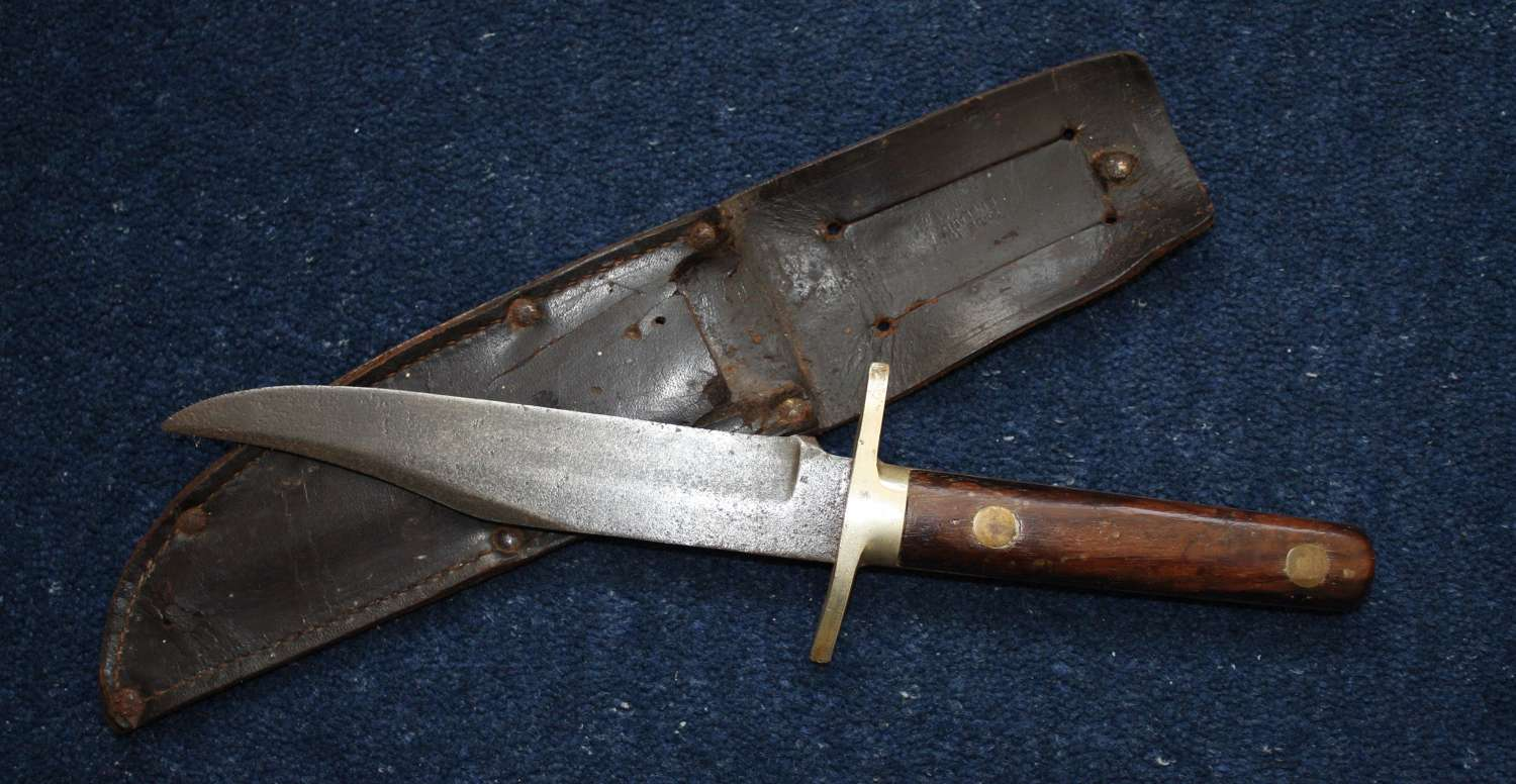 Pre WW1 Vintage British Made Bowie Knife. Sheffield.