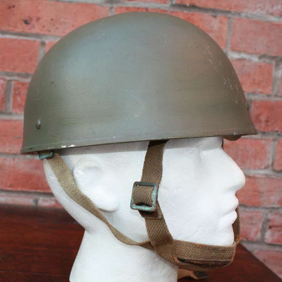 Original Post WW2 British Military Paratrooper Helmet - CCL 1956