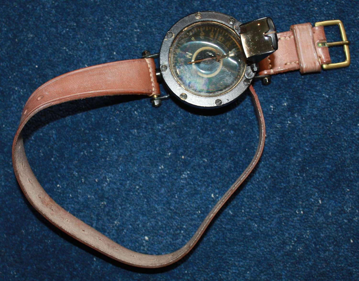 WWI British RFC & RNAS Arm / Leg Compass.