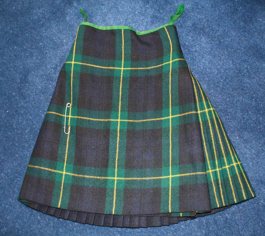 WW2 GORDON HIGHLANDERS BRITISH ARMY KILT 1939