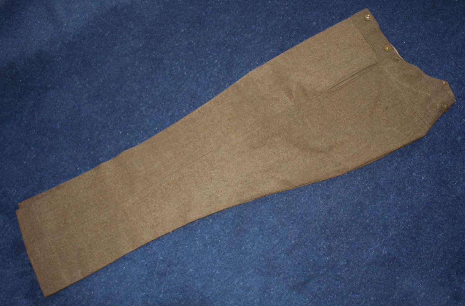 British Army Khaki Service Dress Trousers Other Ranks 1941 dated.