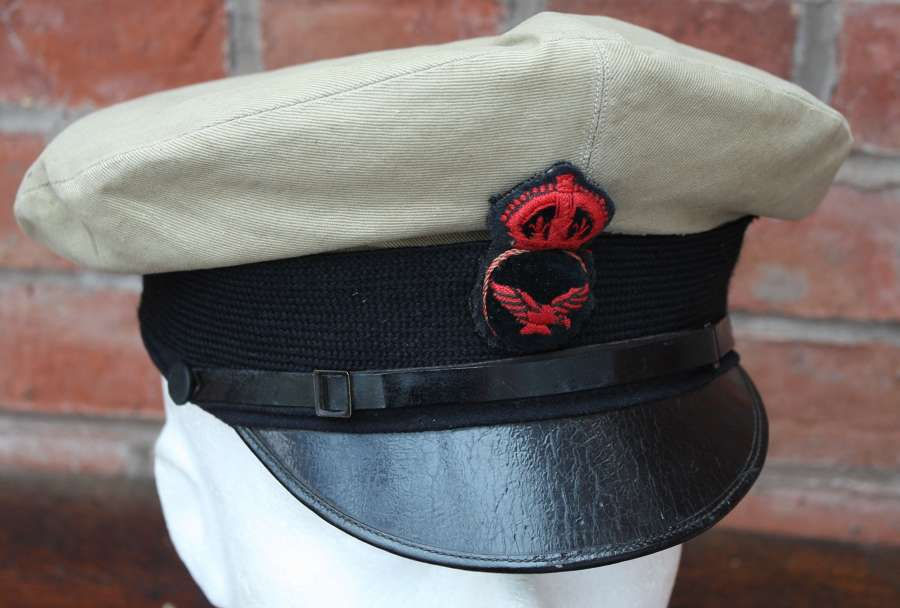 WW1 1918 RAF FORMER RNAS ROYAL NAVAL AIR SERVICE CAP