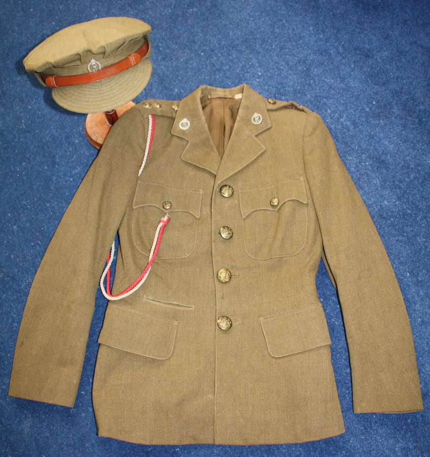 WW2 QAIMNS 'R' QUEEN ALEXANDRA'S IMPERIAL NURSING SERVICE' TUNIC & CAP