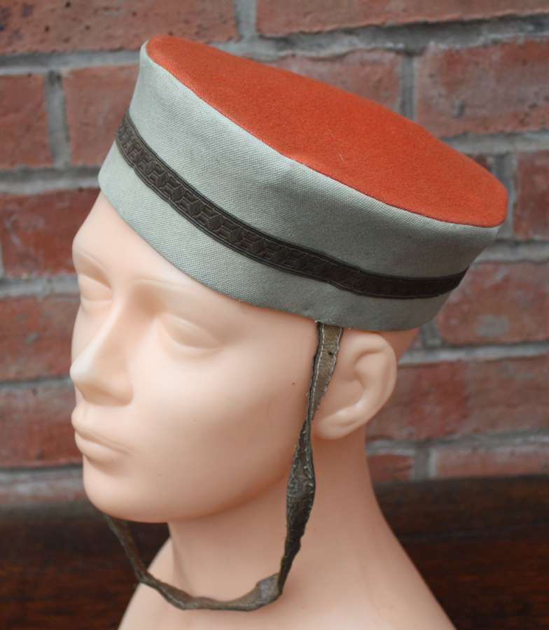 VICTORIAN BRITISH ARMY CAVALRY TROOPERS PILLBOX CAP