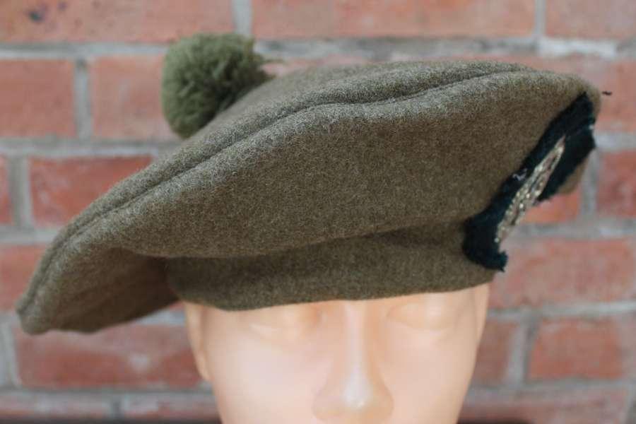 WW1-WW2 INTERWAR LIVERPOOL SCOTTISH KHAKI OTHER RANKS TAM O SHANTER