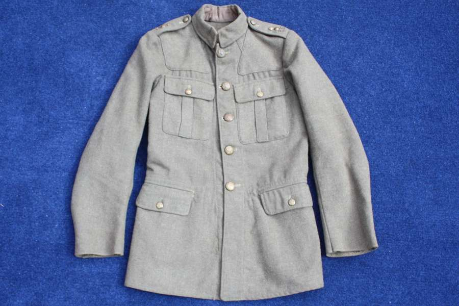 1902 PATTERN BRITISH ARMY LATE WW1 SERVICE DRESS TUNIC RWF