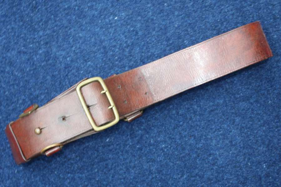 British Army officers WW1 / WW2 Sam Browne Belt.
