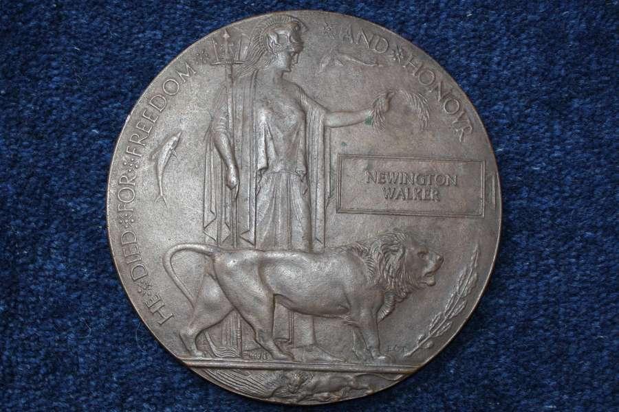 WW1 Death Plaque Worcestershire Regiment 1915 Gallipoli