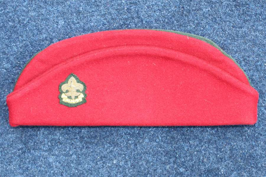 Post WW2 British Army Torin Cap Side : Kings Liverpool & Manchester Re