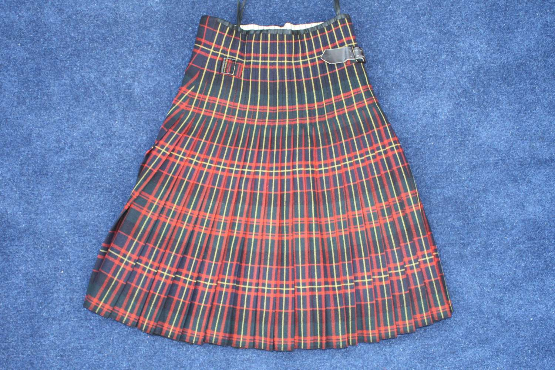 Post WW1 Queen's Own Cameron Highlanders Officer's Kilt